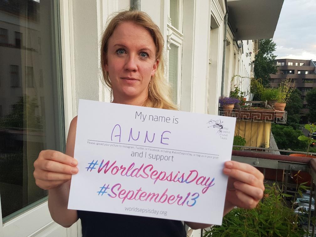 #World Sepsis Day Photo Challenge 2021 - Anne